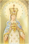 Click here to enlarge image and see more about item p5924: Our Lady of The Cape, Miraculous Statue Postcard