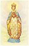 Click here to enlarge image and see more about item p5926: Our Lady of The Cape Spiritual Queen of Canada Postcard p5926