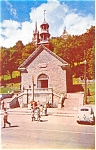Ste Anne De Beaupre Old Chapel Quebec Canada Postcard