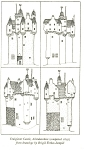 Click here to enlarge image and see more about item p5981: Craigievar Castle Aberdeenshire Postcard p5981