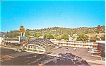 Click here to enlarge image and see more about item p6015: Mountain Shadow Motel Durango CO Postcard p6015