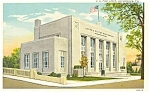 Stroudsburg PA Post Office Postcard