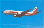 Air Europe 737 on Final Postcard p6054