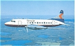 Time Air Convair CV-640 Postcard