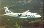Click here to enlarge image and see more about item p6064: Transportes Aeromar ATR 42-300 Postcard