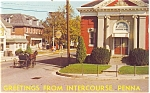 Intercourse PA Street Scene  Postcard