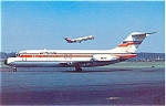 Air Florida DC-9 Postcard  p6093