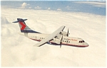 Click here to enlarge image and see more about item p6100: Ontario Express ATR 42 Postcard p6100
