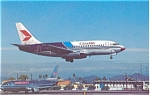 Canadian Airlines 737 Postcard p6102