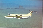 Click here to enlarge image and see more about item p6107: Mesa Airlines Inc., Beech 1900C-1 Postcard