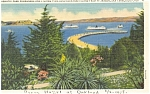 Click here to enlarge image and see more about item p6122: San Francisco CA Alcatraz Postcard