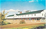 Amherst Nova Scotia Fisher s Motel Postcard p6137