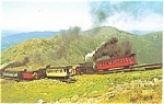 Mt Washington NH Cog Railway Switch Postcard