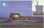 Click here to enlarge image and see more about item p6154: Gaylord MI Holiday Inn Postcard p6154