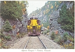 Agawa Canyon Tour Train Postcard p6155
