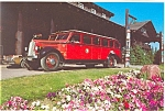 Click here to enlarge image and see more about item p6156: Glacier Park MT Scenic Coach Postcard