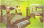 Click here to enlarge image and see more about item p6185: Madonna Inn Safari Room Postcard