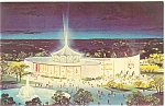 Click here to enlarge image and see more about item p6189: Vatican Pavilion New York Fair 1964 65 Pcard p6189
