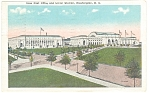 Union Station Washington DC Postcard 1928