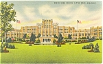 Click here to enlarge image and see more about item p6344: Little Rock, AR, Senior High School, Linen Postcard
