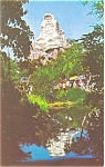 Click here to enlarge image and see more about item p6354: Disneyland  Matterhorn Mountain Postcard  p6354