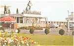 Woodbridge NJ  Dutch Maid Motel Postcard p6388