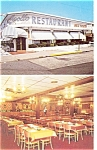 Wildwood NJ Apollo Restaurant Postcard p6390
