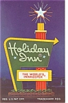 Canton Ohio Holiday Inn Sign Postcard p6439