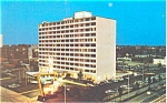 Columbus Ohio Holiday Inn Postcard p6448