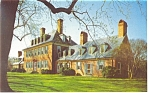 Williamsburg  VA Carter  s Grove Plantation Postcard p6504