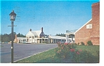 Williamsburg VA The Colony Motel Postcard p6515