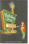 Durham, NC Holiday Inn Sign Postcard