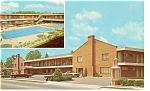 Williamsburg VA  Holiday Inn Postcard p6556