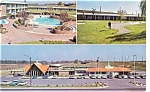 Click here to enlarge image and see more about item p6562: Weldon NC Howard Johnson's Motor Lodge Postcard p6562