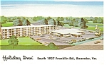 Roanoke, VA, Holiday Inn Franklin Road Postcard