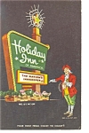 Rochester NY Holiday Inn Sign Postcard p6573