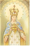 Click here to enlarge image and see more about item p6582: Our Lady of The Cape Miraculous Statue Postcard	 p6582
