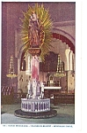 Click here to enlarge image and see more about item p6583: St Anne De Beaupre Miraculous Statue Postcard