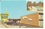Rocky Mount NC Holiday Inn Postcard p6590 Vintage Cars