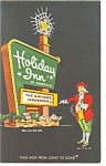 Wilson NC Holiday Inn Sign Postcard 	 p6593