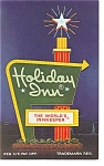 Kent  OH  Holiday Inn Sign Postcard p6603