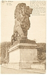 La Gileppe,South Africa The Lion Statue Postcard