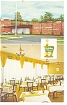 Saratoga Springs NY Holiday Inn Postcard p6625
