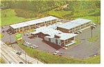 Asheville NC Holiday Inn Postcard p6634