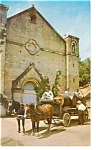 Saratoga CA Paul Masson Champagne Cellars Postcard p6639