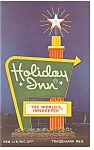 Perrysburg OH, Holiday Inn Sign Postcard p6649