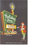 Wilson NC Holiday Inn Sign Postcard p6651