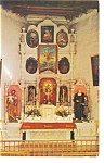 Santa Fe NM San Miguel Church Postcard p6654