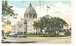 St Paul, MN, State Capitol Postcard