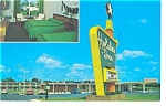 Smithfield NC Holiday Inn Postcard p6668 Vintage Cars